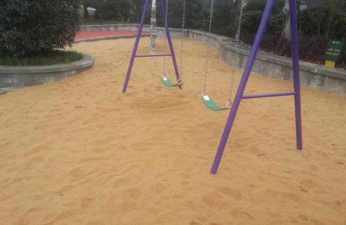 石英砂公园工程案例