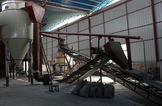 石英砂生产基地
