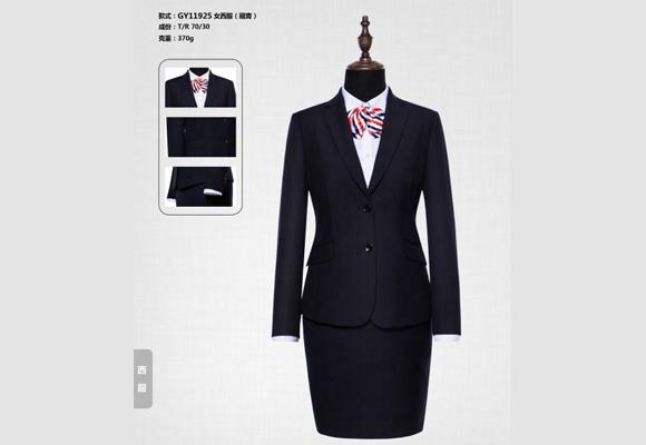 重庆职业装定做:女士们通用的西装穿搭规则包括