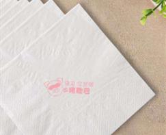 重庆某酒店散片纸巾定制