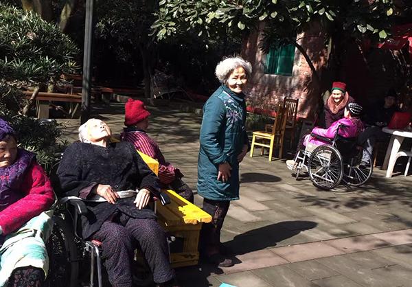 重庆松林养老院老人照片
