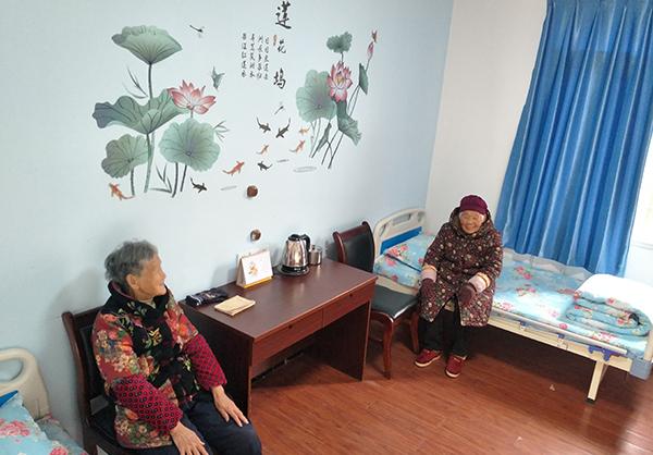 长寿养老院寝室展示