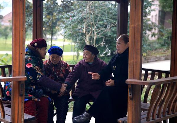 长寿养老院环境图片
