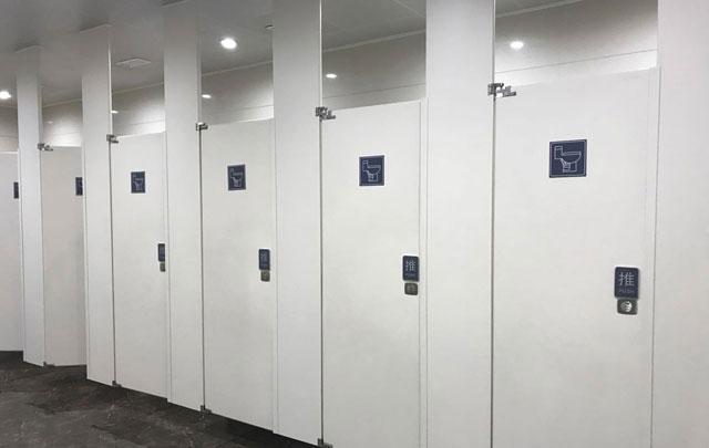 工厂卫生间隔断