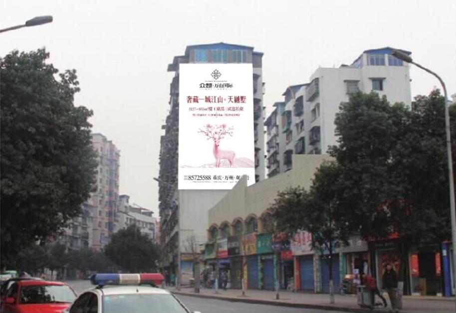 户外大牌广告制作
