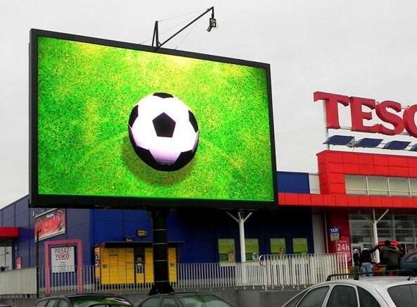 LED显示屏技术对ED户外广告的影响