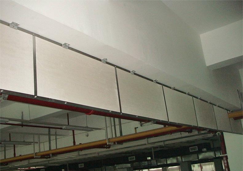 挡烟垂壁安装