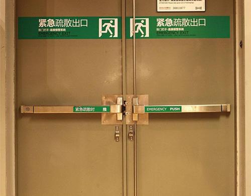 防火门逃生锁