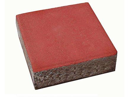 方块彩色路面砖