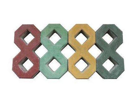 八字型植草砖