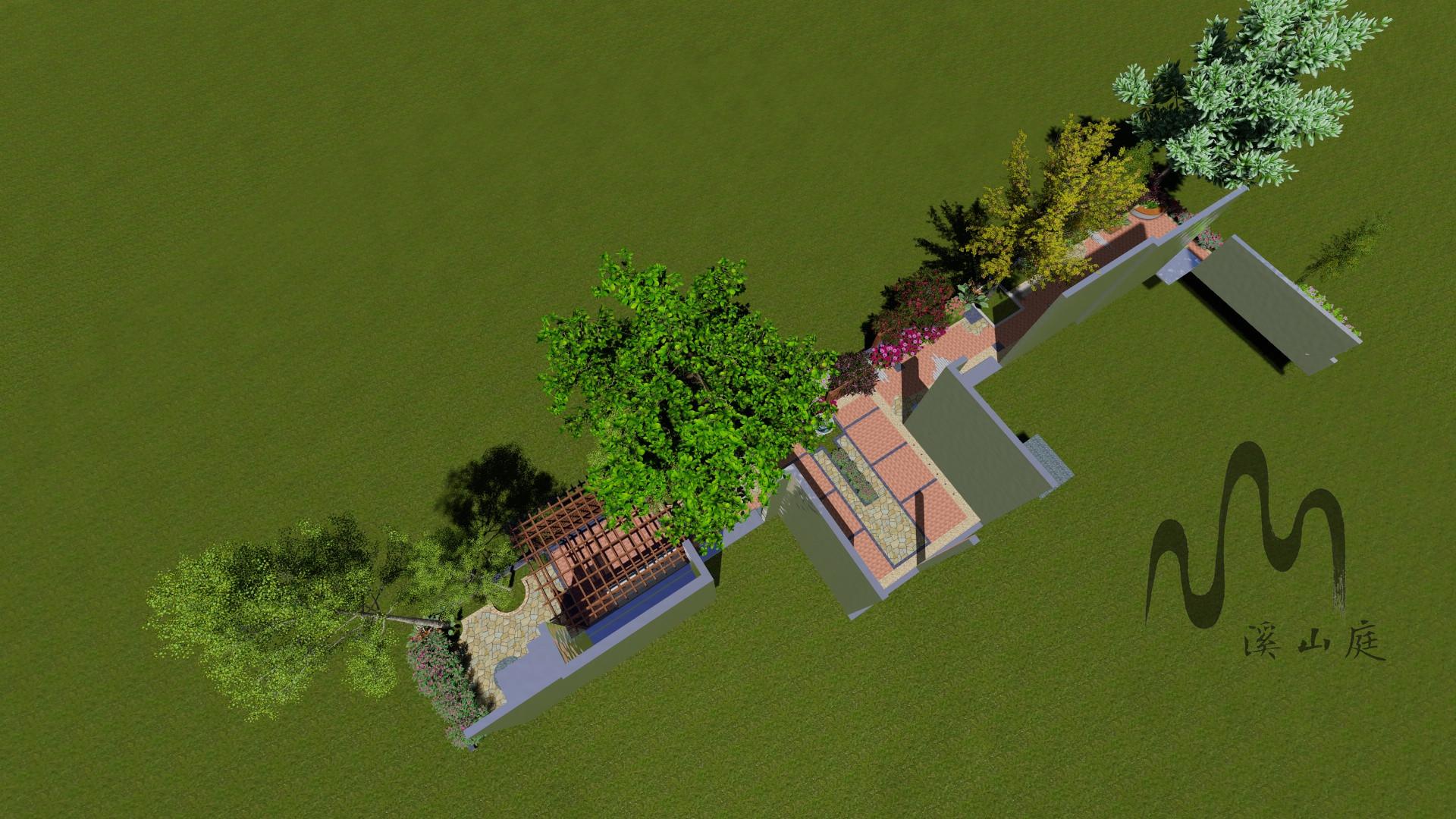 骏逸蓝山花园设计(现代风格)