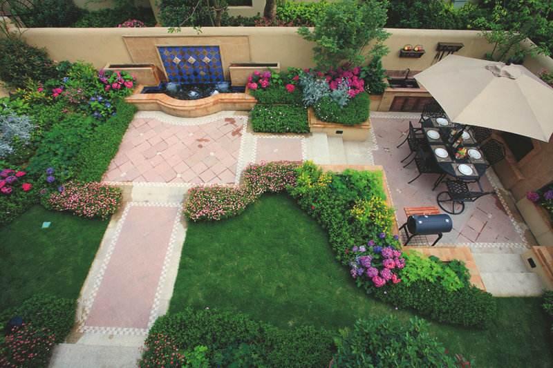 地中海私家花园设计