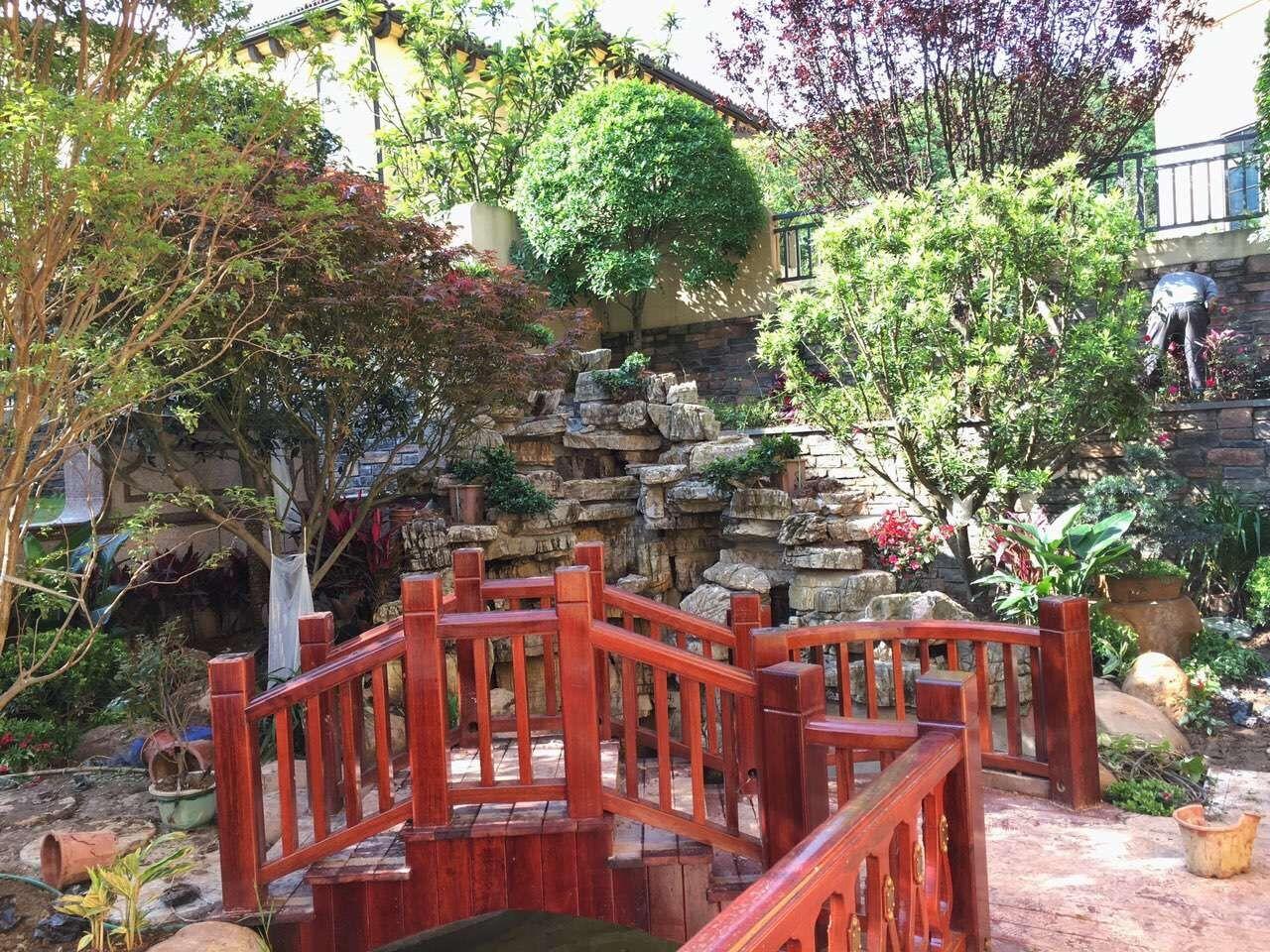 重庆沙坪坝私家花园设计