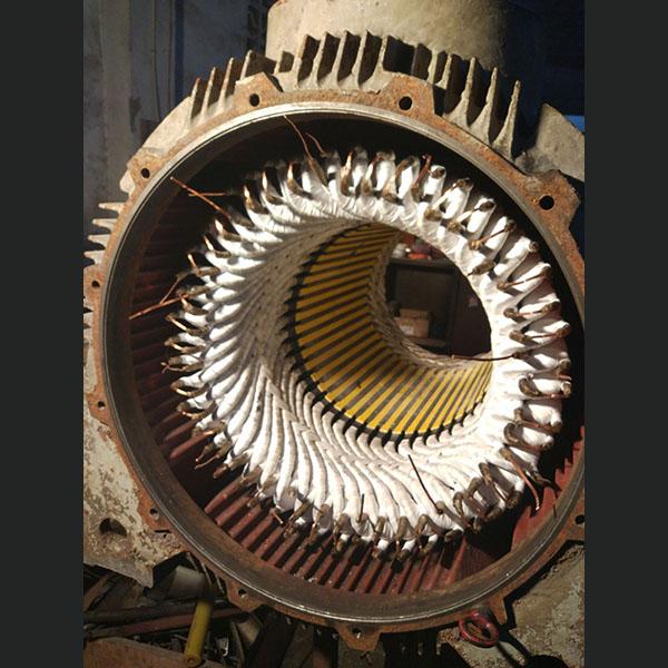 煤矿用315KW-2-10KV高压电机维修
