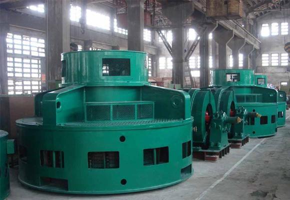 水轮电机检测维修