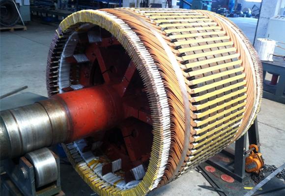 大型电机轴承维修
