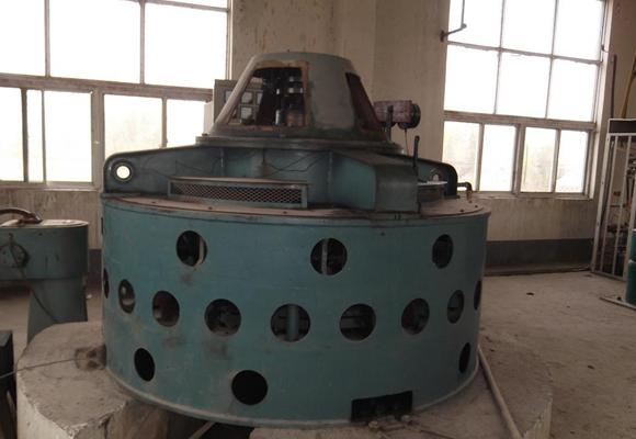 水电站发电机组维修