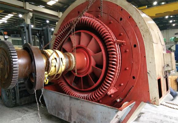 大型发电机组维护