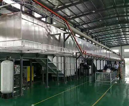 金属制品喷涂生产线