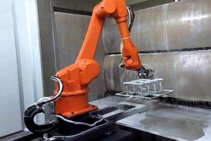 液体静态喷漆机器人
