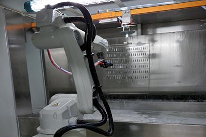 粉沫静态喷粉机器人