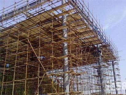 高层钢管架搭建