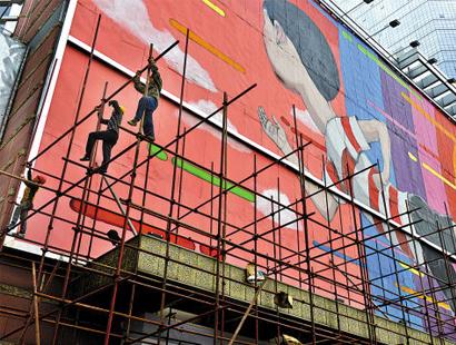 重庆广告架搭建