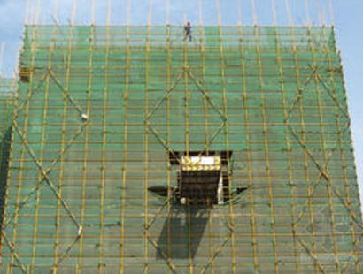 加固钢管架搭建