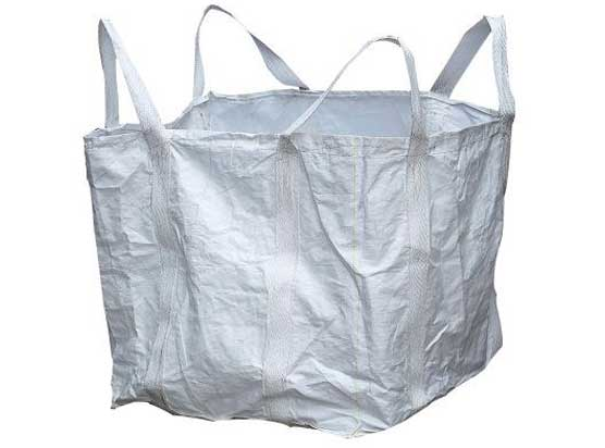 四吊环拖底带盖吨袋