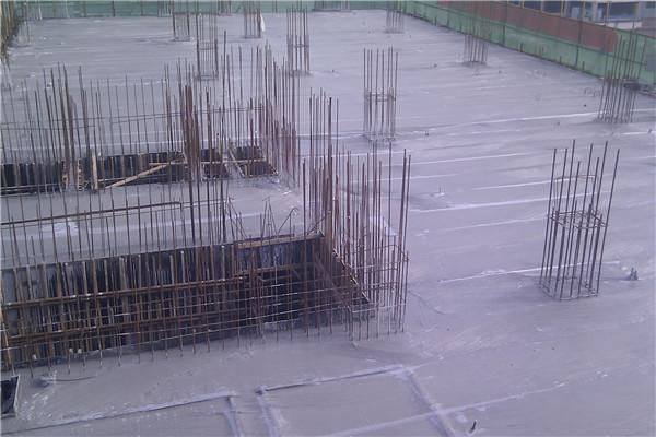 楼层混泥土浇筑
