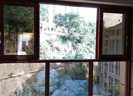 铝合金窗定制安装案例