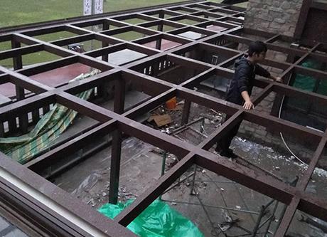 重庆阳光房施工案例展示