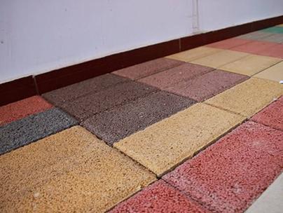 砂基透水砖有着怎样的优点