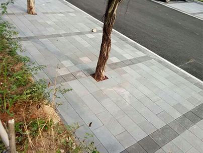 重庆市透水砖路面项目