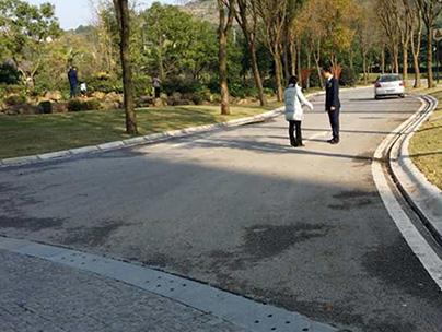 重庆透水砖案例展示
