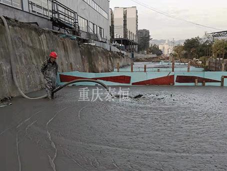 云阳长江大桥连接道气泡混合轻质土回填