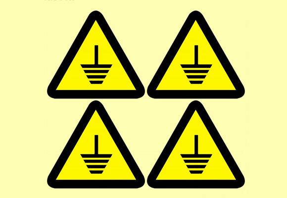警告标识不干胶