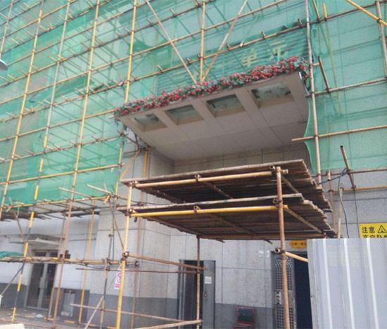 重庆钢管架搭建