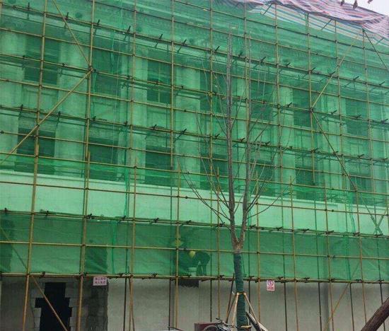 重庆外墙钢管架安装