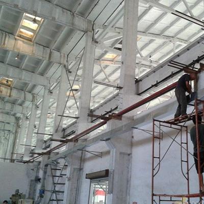 工厂白铁通风管道安装