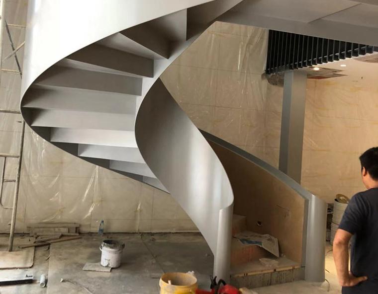 重庆钢结构现浇楼梯制作