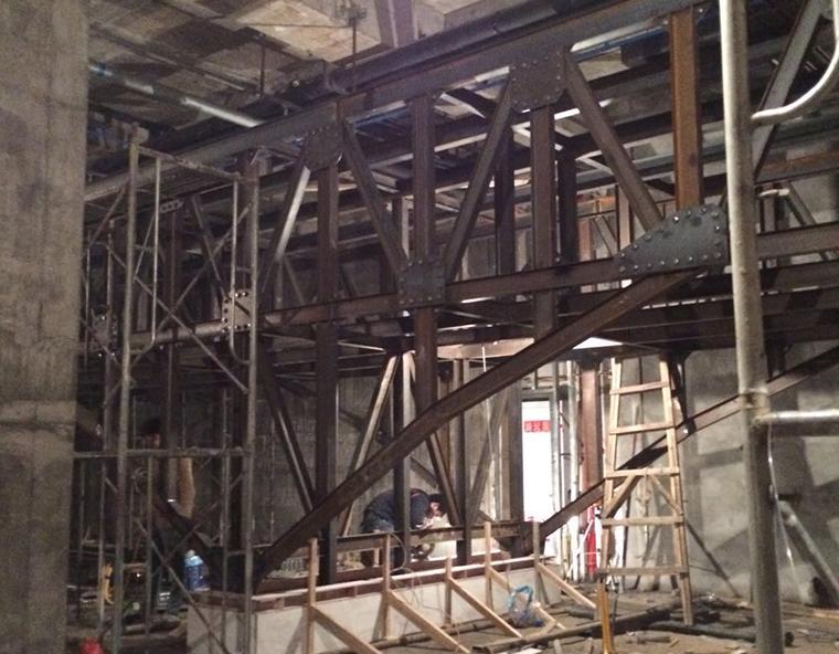 钢结构现浇施工