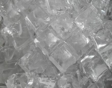工业大冰块的结冻过程