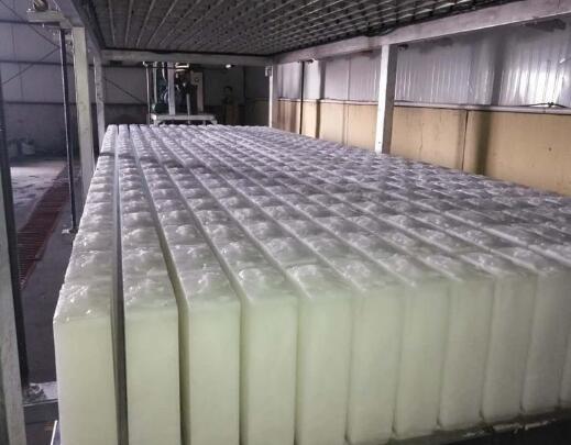 工业冰块制冰与出冰过程介绍
