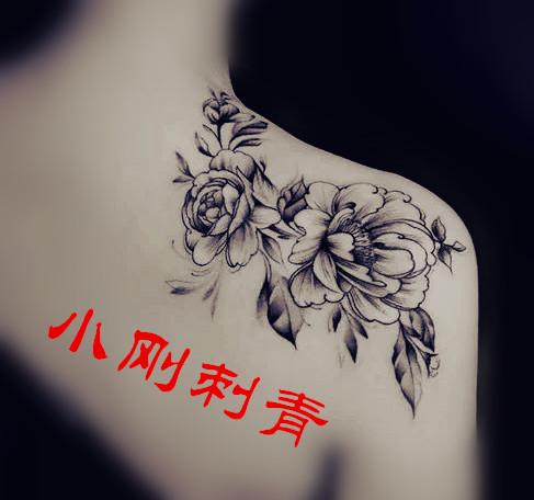 水墨画纹身