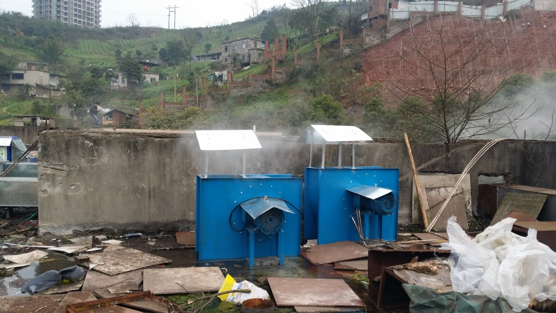 重庆涪陵五中食堂排烟系统改造工程