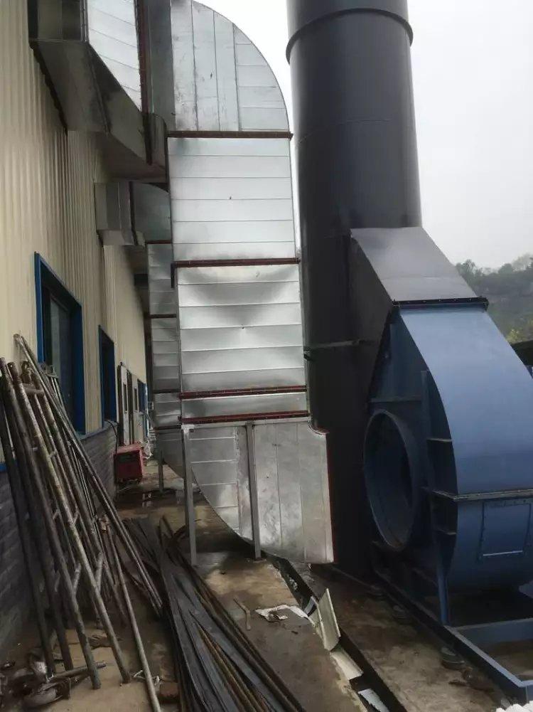 重庆力帆废气处理工程
