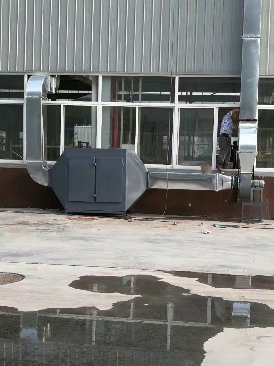 重庆万盛万可阳废气除尘管道安装工程