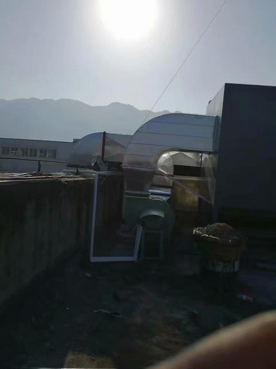 重庆璧山区皮鞋厂废气处理工程