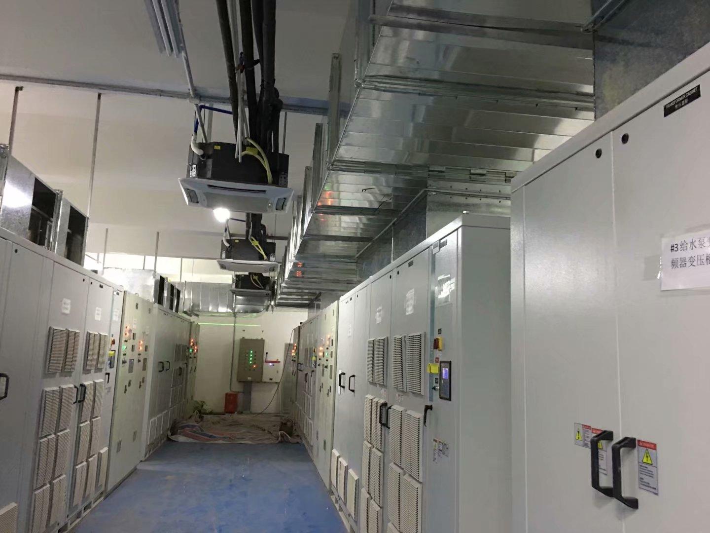 重庆百果园发电站通风管道